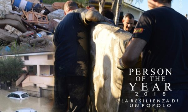 """La resilienza di un popolo"". Ai cittadini di Simeri Mare il premio Person of the Year 2018"