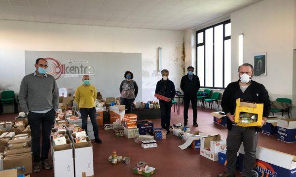 Emergenza Covid, Pacchi alimentari dall'Amministrazione per le famiglie meno abbienti