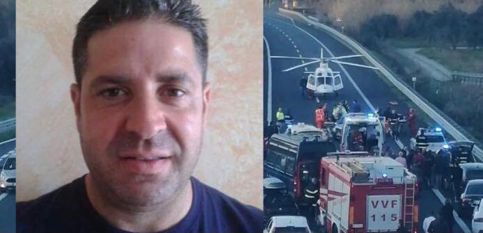 Tragico incidente stradale, Muore poliziotto 49enne di Simeri Mare
