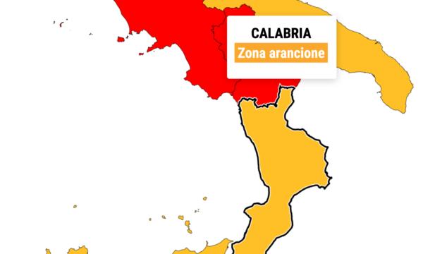 Da lunedì la Calabria torna in zona arancione. L'annuncio di Spirlì