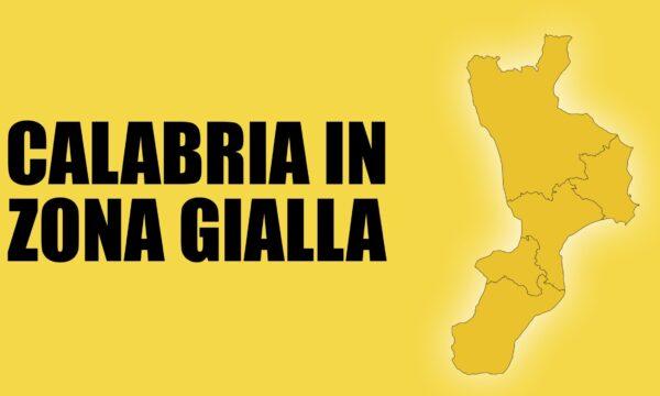 Da lunedì la Calabria torna in zona gialla. Maggiore libertà di movimento e molte aperture