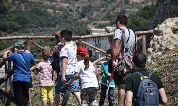 Mome festival, Grande partecipazione dei bambini al trekking archeologico con Chiricò