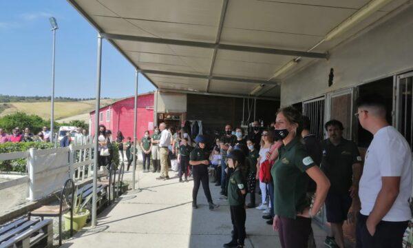 Giornata di sport al Centro Ippico Happy Horse per la prima tappa del progetto A-cademy