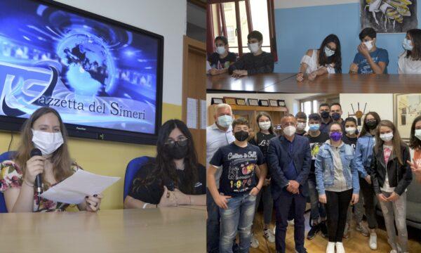 Progetto scuola, Il Telegiornale dei ragazzi di Soveria: intervista al sindaco Mormile