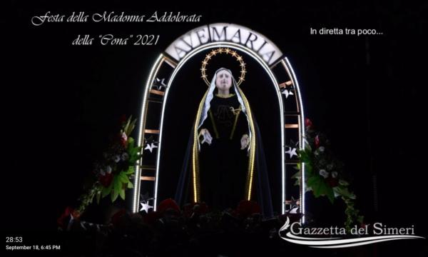 DIRETTA | Festa della Cona 2021, il tragitto della Madonna fino a Fra Rocco